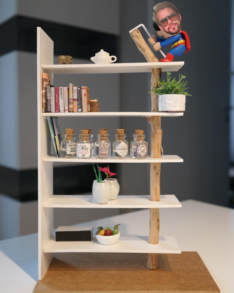mini-presents Miniaturregal als Geburtstagsgeschenk