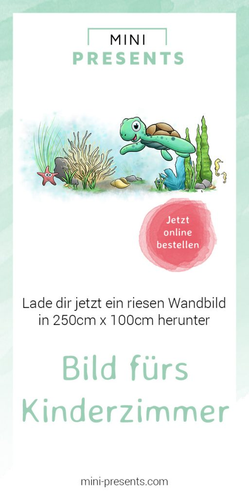 Wandbild fürs Kinderzimmer | mini-presents
