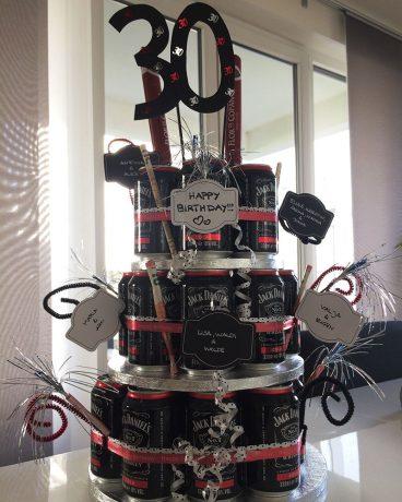 mini-presents Geschenktorte Whiskeytorte