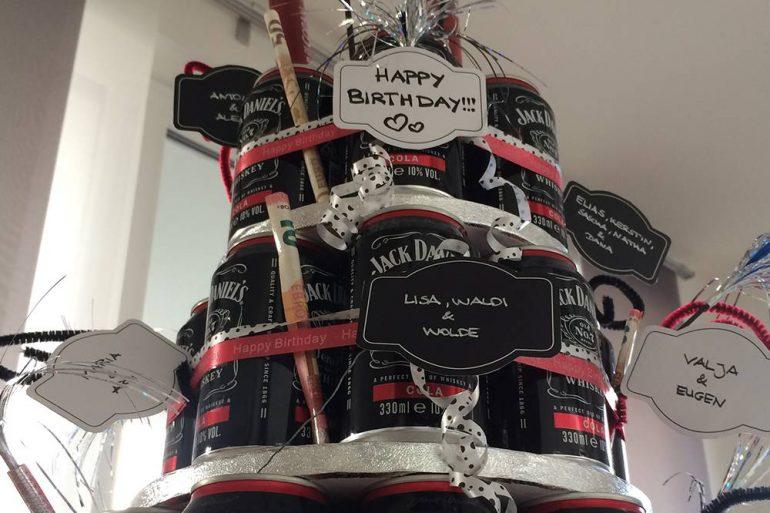Whiskeytorte Zum 30 Geburtstag Mini Presents