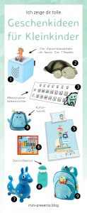 mini-presents Geschenkideen für Kleinkinder
