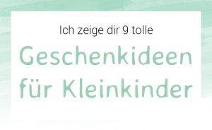 mini-presents Geschenkideen für Kinder