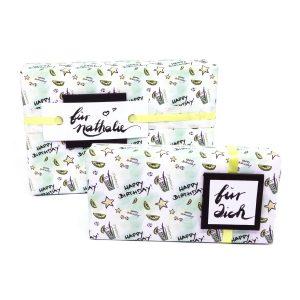 mini-presents Geschenkpapier zum Geburtstag