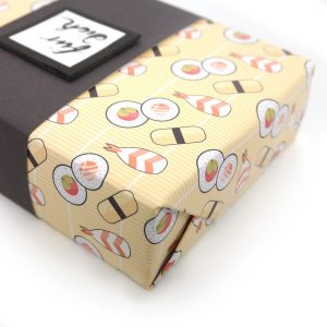 mini-presents Freebie Geschenkpapier Sushi