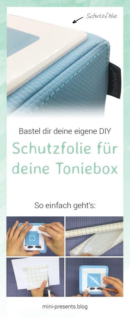 Tonie Box Schutzfolie DIY