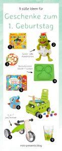 mini-presents Geschenkideen zum ersten Geburtstag