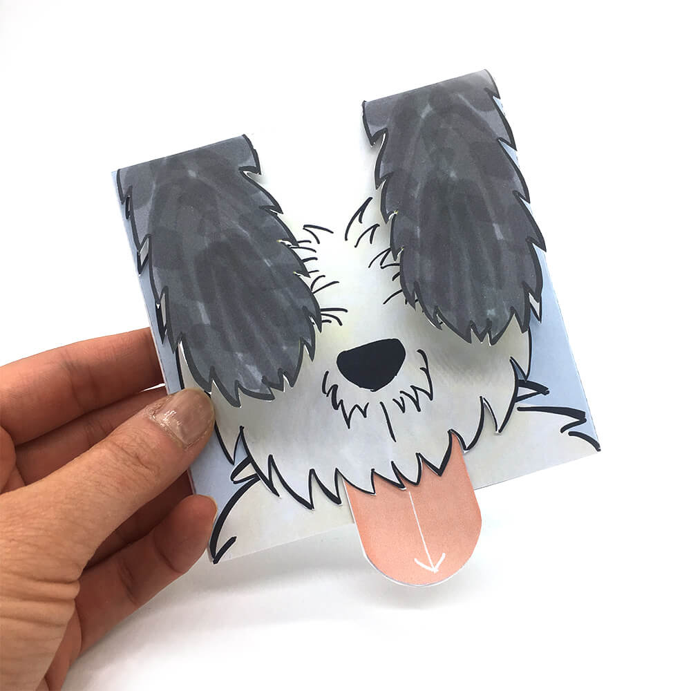 mini-presents Hundekarte