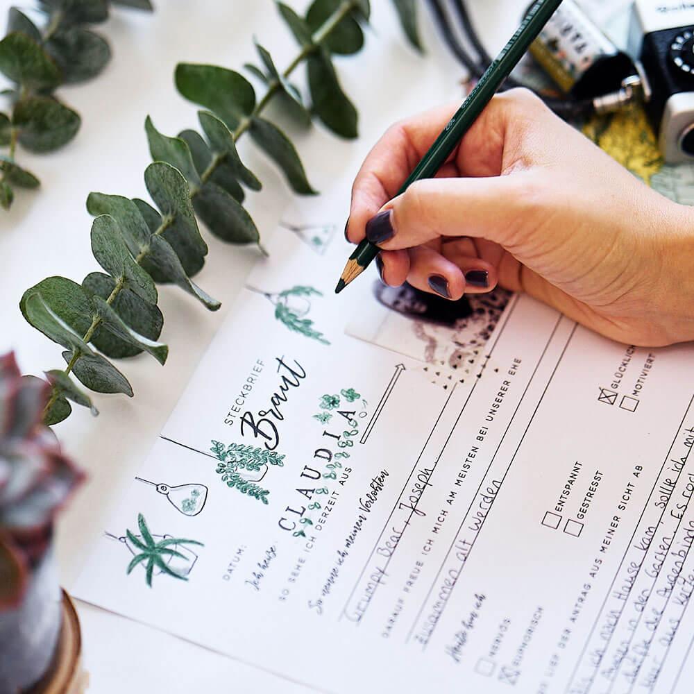 Wedding Planner zum Ausdrucken