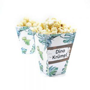 mini-presents Dino Party Deko Popcorntüte