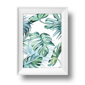 mini-presents Wandbild Tropical