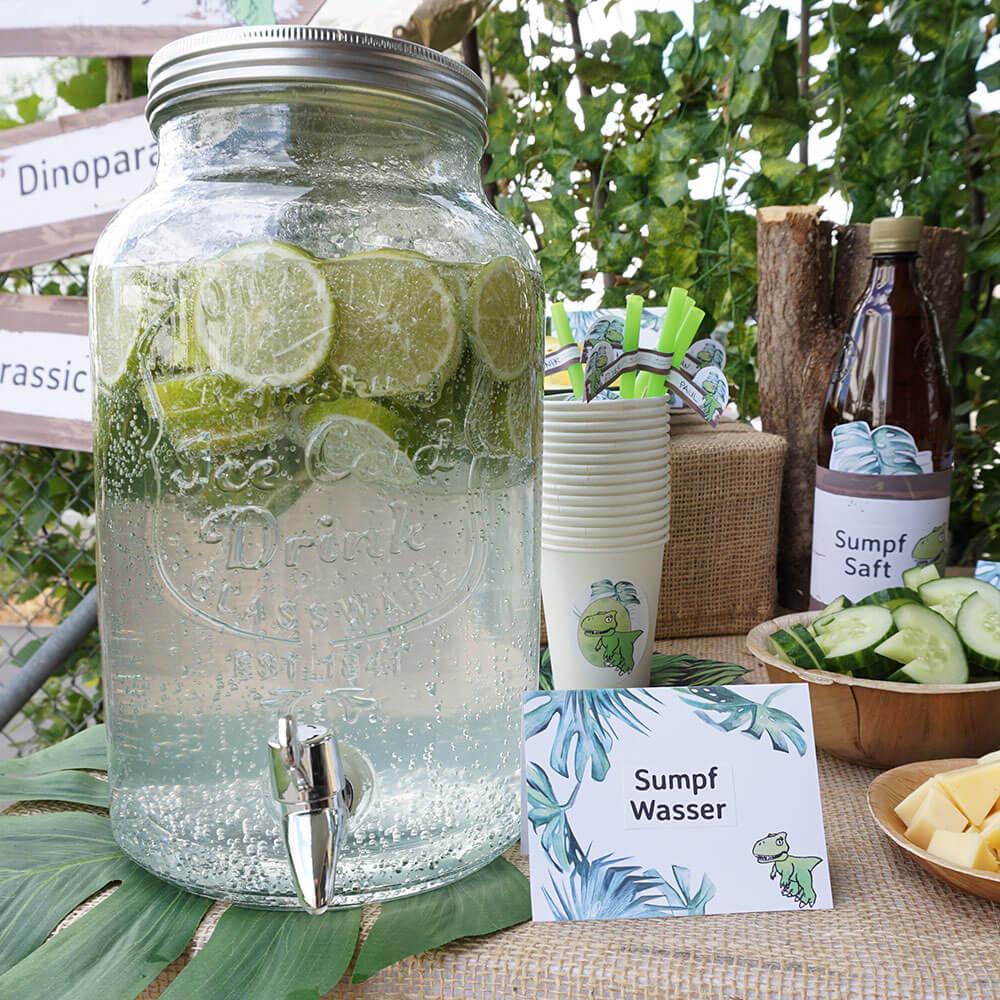 mini-presents Sumpfwasser Dino Party Deko