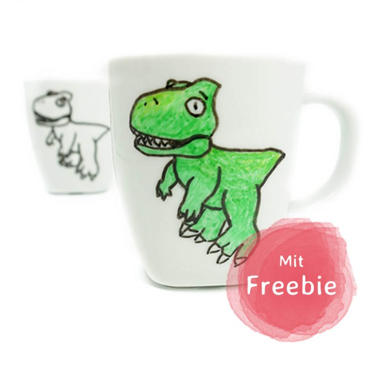 625d29f529a DIY Dino Tasse bemalen inklusive Freebie | mini-presents