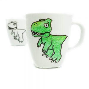 mini-presents Dino Tasse Freebie