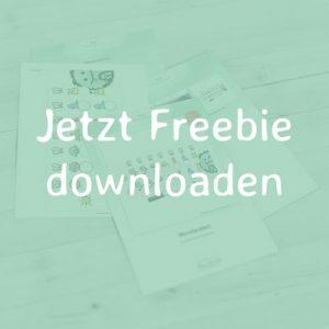 mini-presents Freebie Zahnputzplan