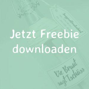 mini-presents Freebie Flaschenpost