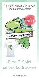 mini-presents Dino T-Shirt Freebie