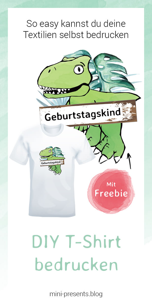 mini-presents Dino T-Shirt Freebie