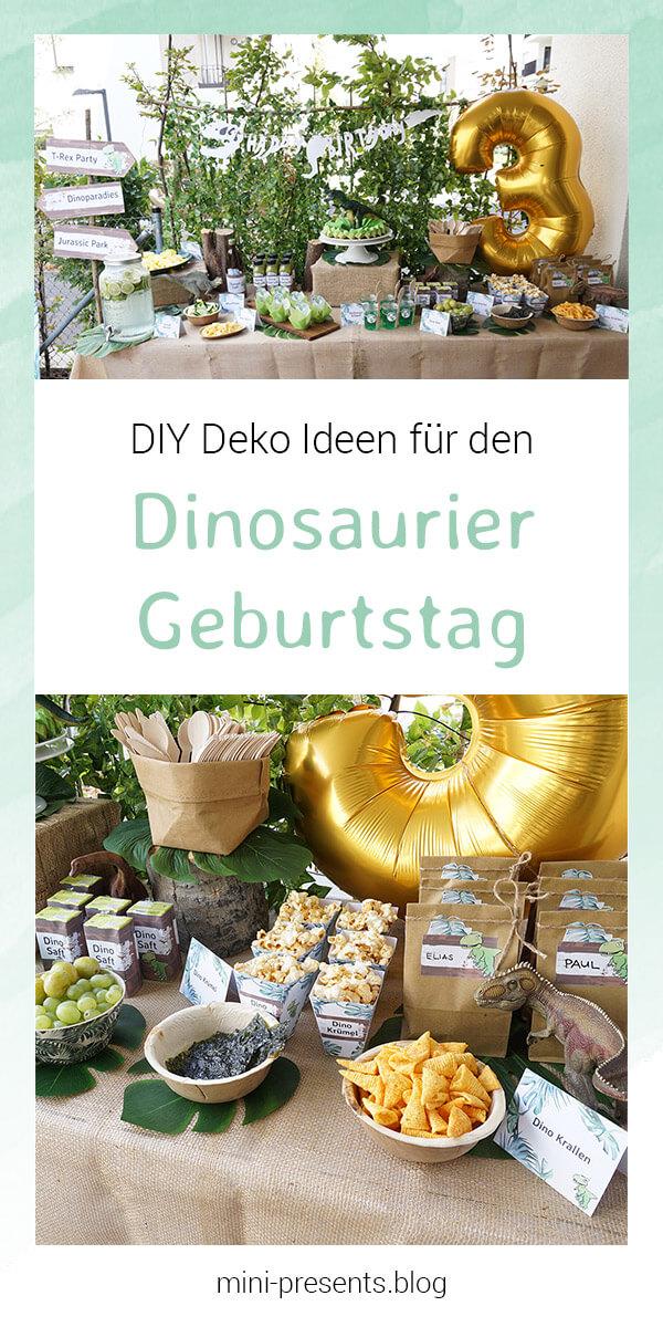 mini-presents Dino Party Deko