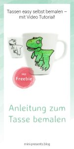 mini-presents Dino Tasse Freebie