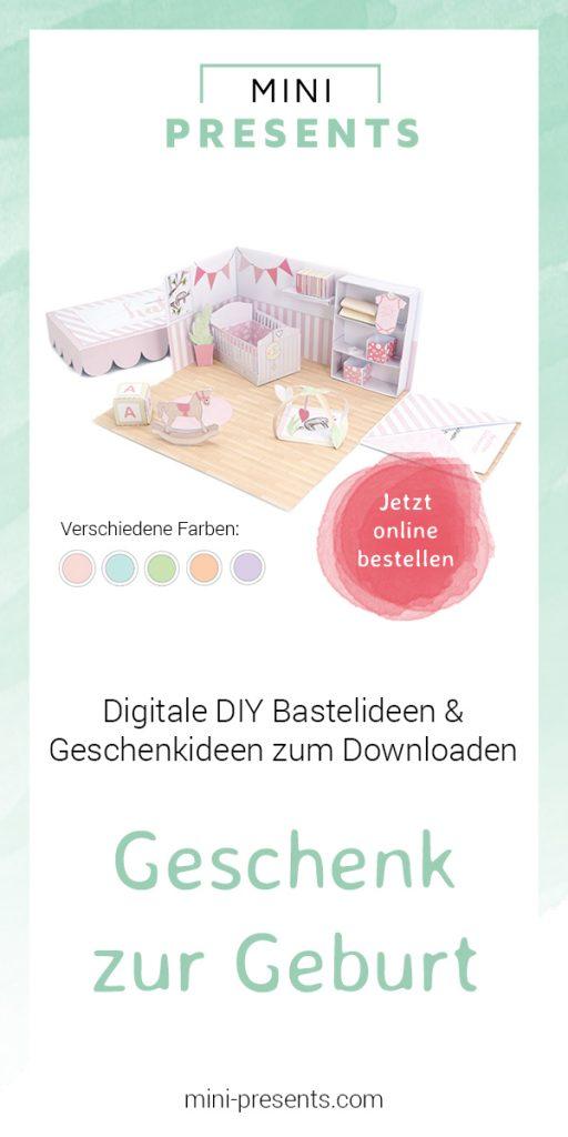 mini-presents Geschenk zur Geburt oder Taufe