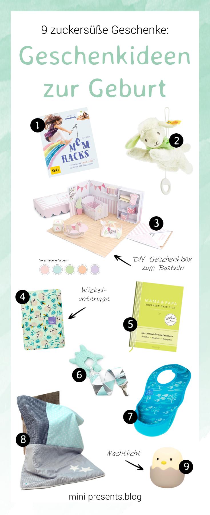 9 Süße Geschenkideen Für Geschenke Zur Geburt Oder Zur Taufe Mini