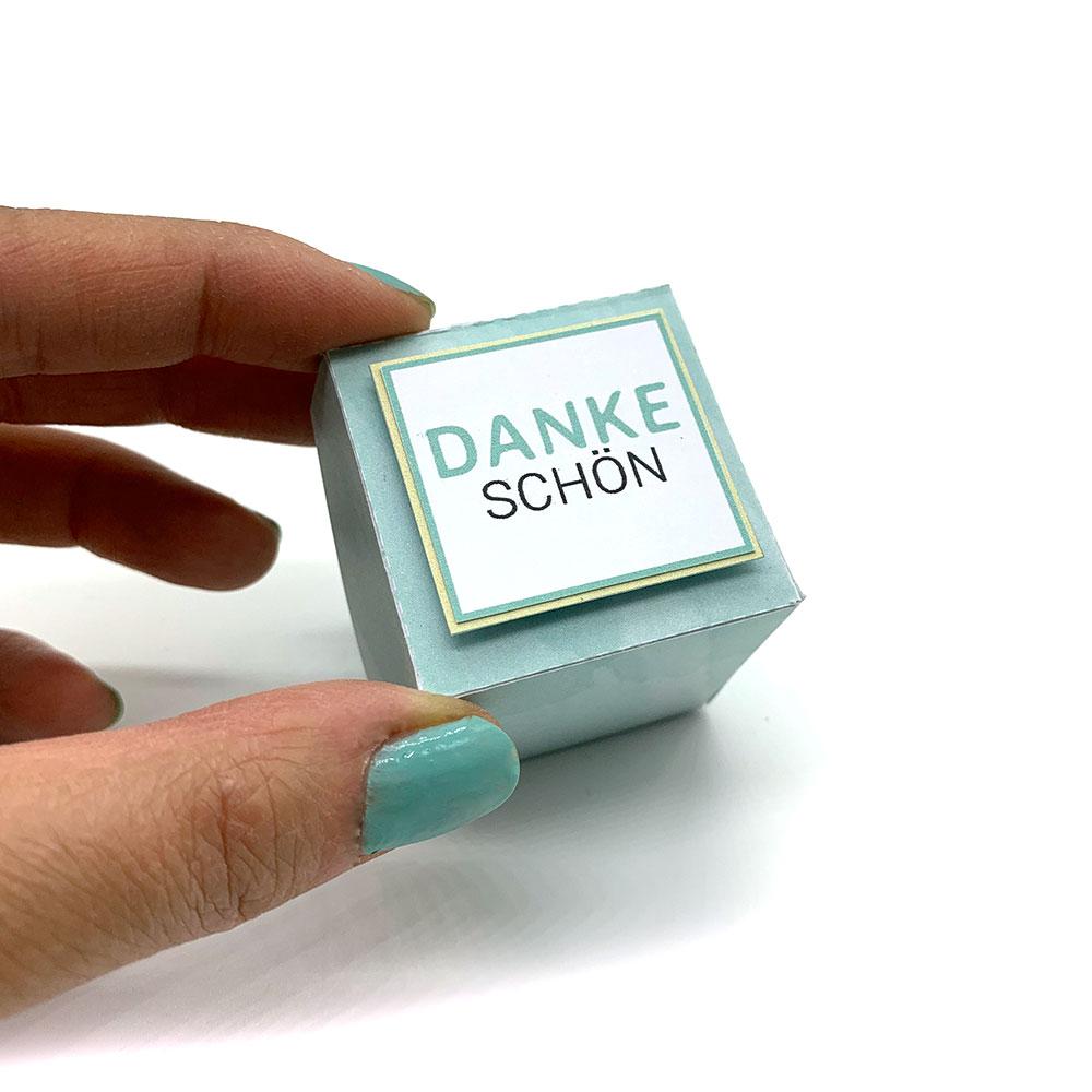 mini-presents Danke Geschenkbox