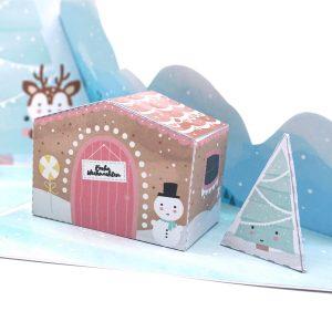 Weihnachtsgeschenk Explosionsbox