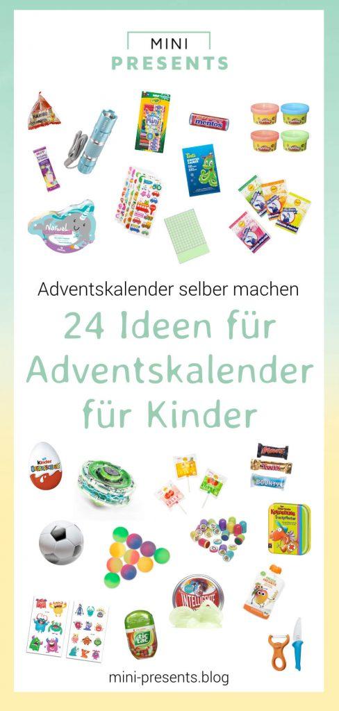 24 Ideen für Adventskalender für Kinder