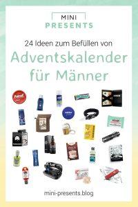 24 Ideen für Adventskalender für Männer