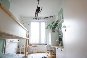 Kinderzimmer Dekoideen Wimpelkette Namensgirlande