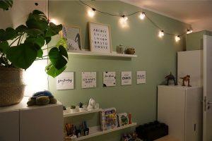 Kinderzimmer Einrichtung Lichterkette