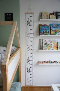 Kinderzimmer Einrichtung Messlatte
