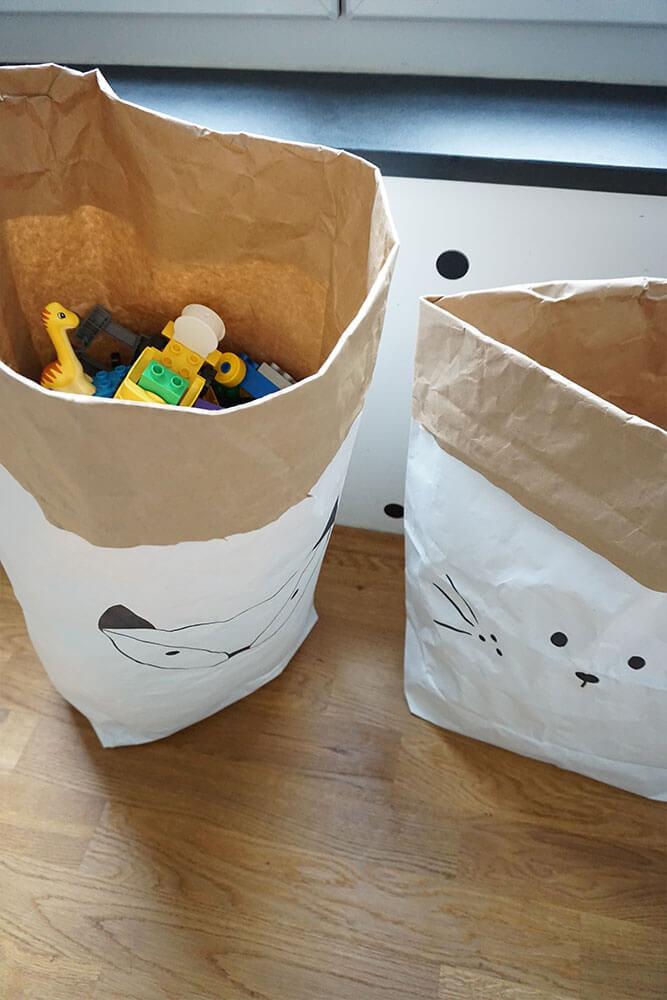 Kinderzimmer Einrichtung Spielzeugtüten