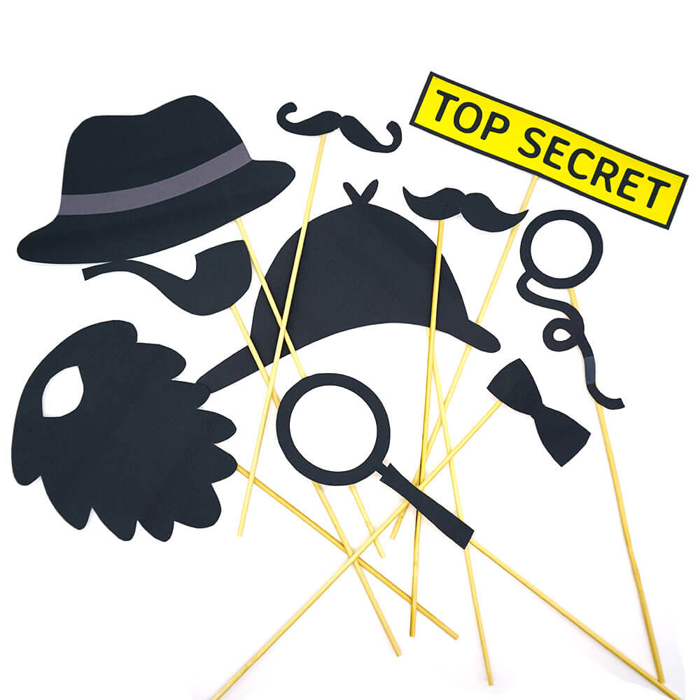 Detektiv Fotorequisiten