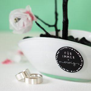Geschenketikett Geldgeschenk zur Hochzeit