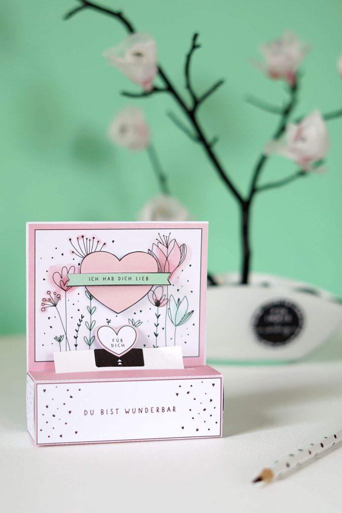 DIY Geschenkbox zum Muttertag