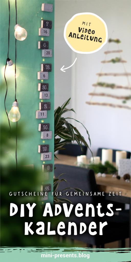 Nachhaltiger DIY Adventskalender für Frauen