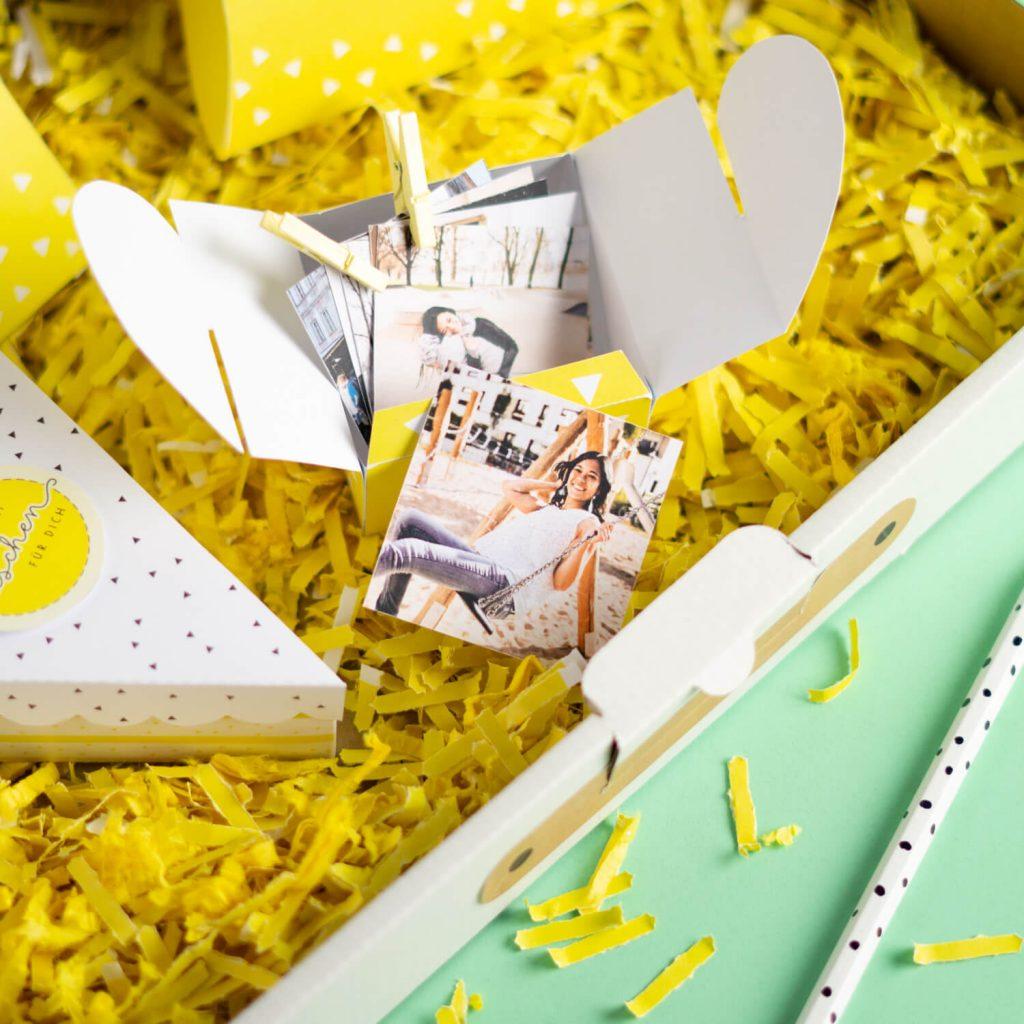 Geschenk Care Paket Fotobox