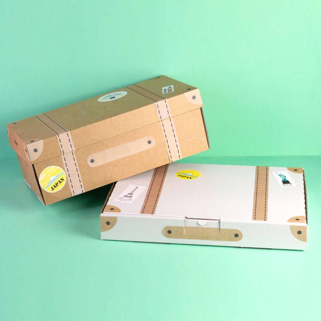 DIY Care Paket Geschenk Koffer