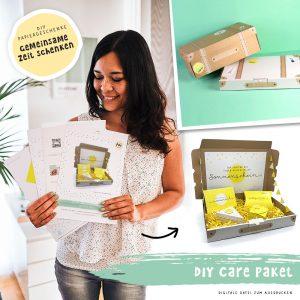 DIY Vorlage Care Paket