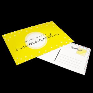 Kostenlose Postkarte zum Ausdrucken
