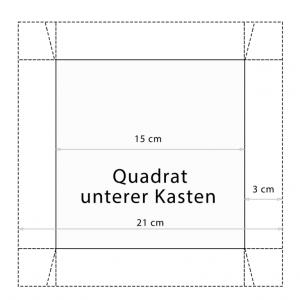 Bastelvorlage Schachtel