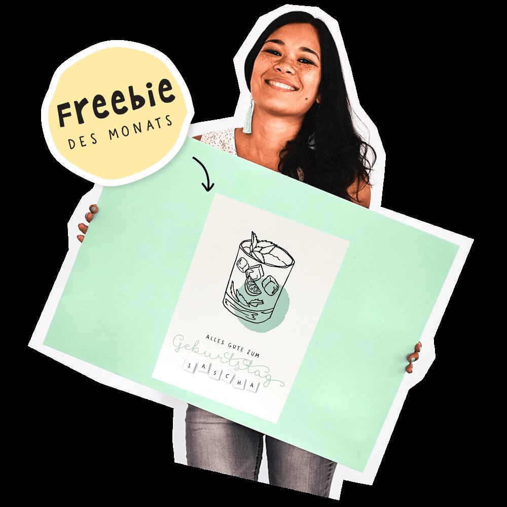 mini-presents Freebie des Monats Kerstin Franz