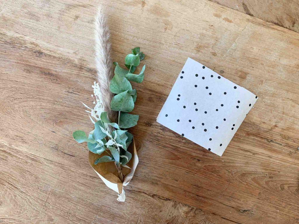 Trockenblumen für dein Kita Abschiedgeschenk